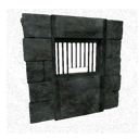 Black Ice-Reinforced Wooden Exchange Wall