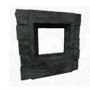 Black Ice-Reinforced Wooden Window