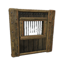 Insulated Wooden Exchange Wall
